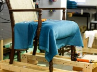 Upholstery classes modhomeec for Furniture upholstery course