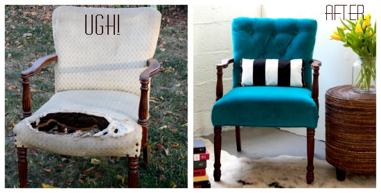 How to Upholster a Chair: Part 1 | ModHomeEc