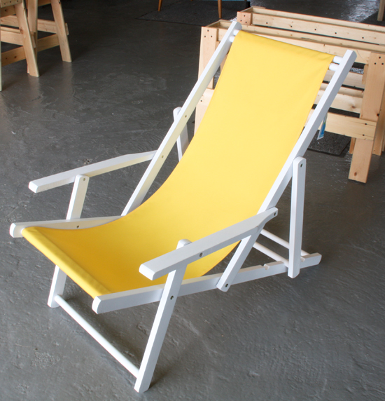 How To Make A Beach Chair