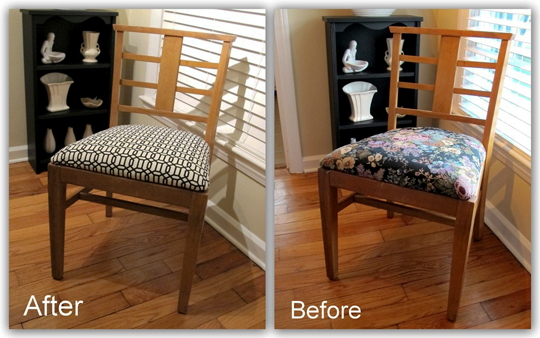 Dining chair upholstery floors doors interior design for Ideas for reupholstering dining room chairs