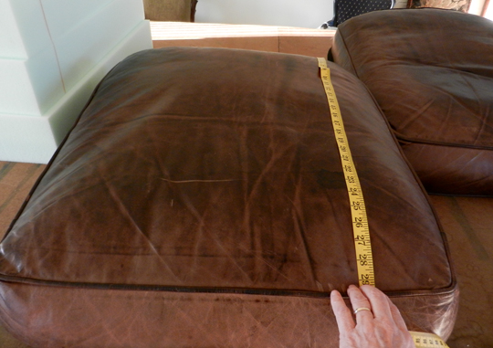 Replacement leather cushion covers quotes for Leather couch cushion replacement
