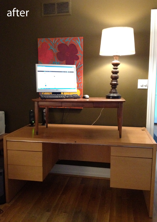 Diy 5 Minute Standing Desk Conversion Modhomeec