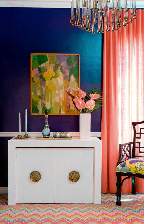 Color Blocking in Your House | ModHomeEc