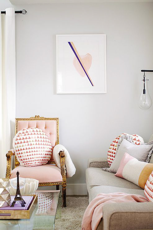 Pink And Gray Are A Couple Modhomeec