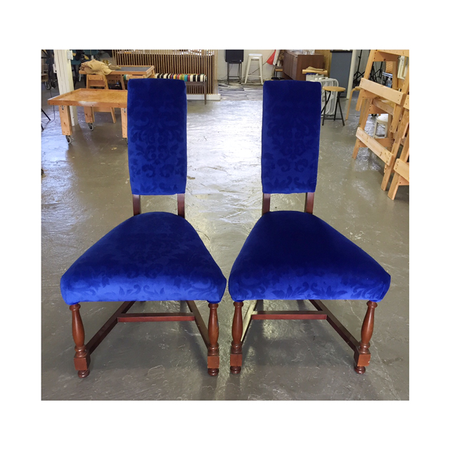 ModHomeEc Blue Chairs