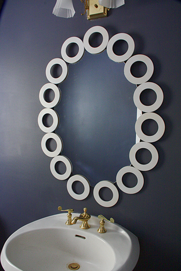 Make A 15 00 Oval Mirror Frame Modhomeec
